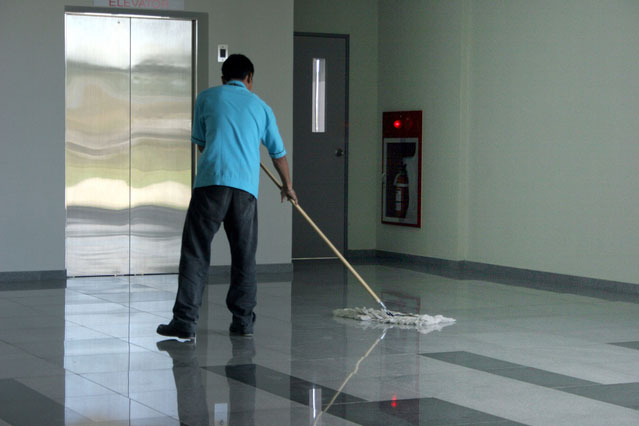 janitorial day porter service