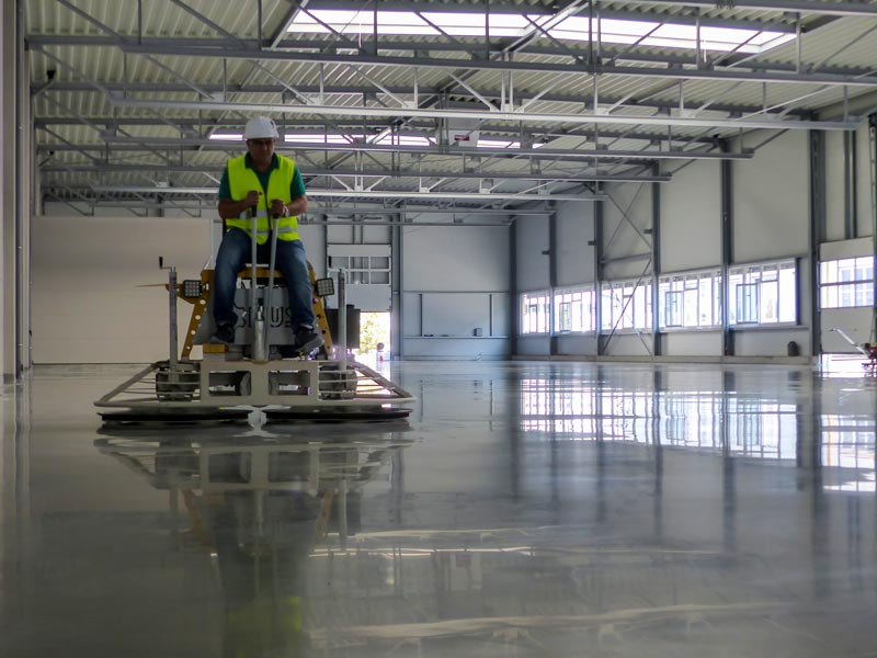 polished concrete Chicago contractor